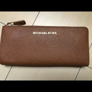 Michael Kors Camel Wallet